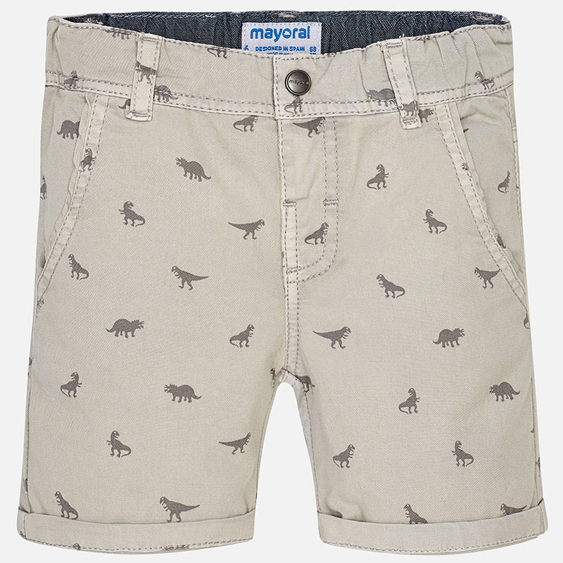 Boys Dinosaur Print Casual Summer Shorts