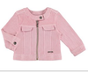 Mayoral 1455 Stretch Pink Denim Cropped Jacket