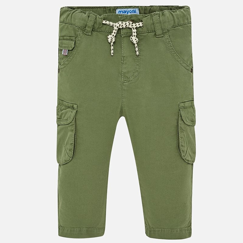 1527 mayoral green cargo pants