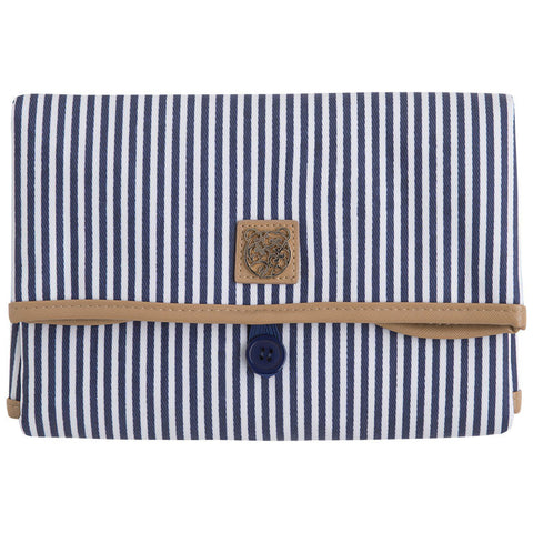 Mayoral Navy Striped Changing Pad Clutch