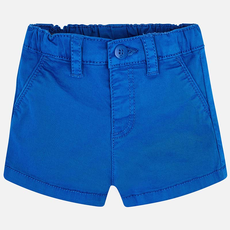 mayoral unisex galaxy blue twill shorts