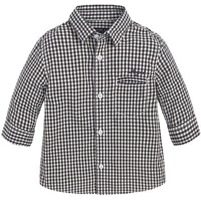 Mayoral 2142 B/W Check Button Up