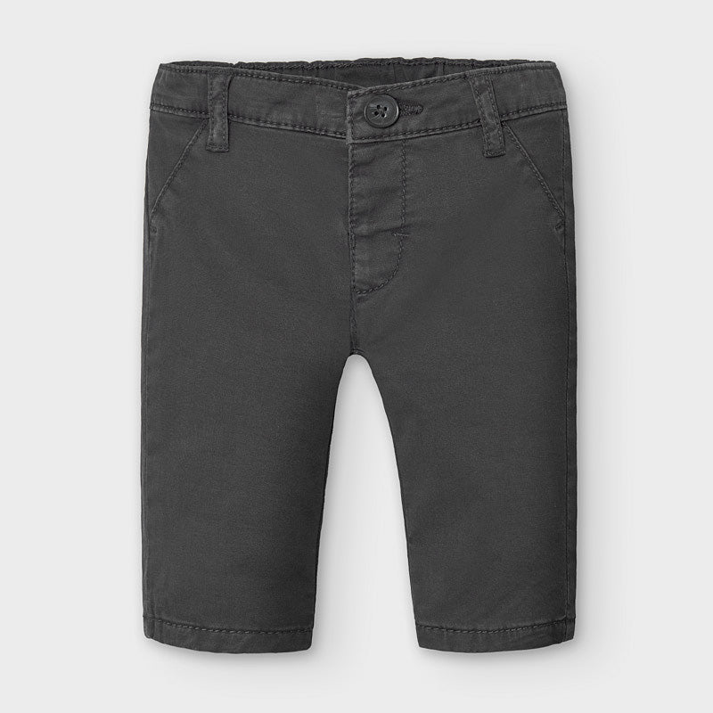 boys chino pants in black, style# 2567
