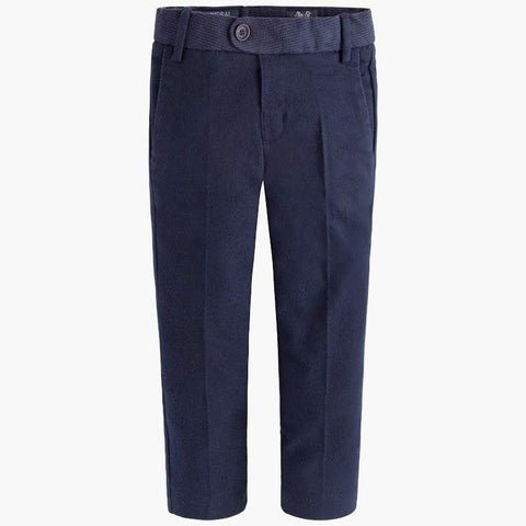 Mayoral 4501, Boys Soft Woven Tailored Pants - Deep Navy