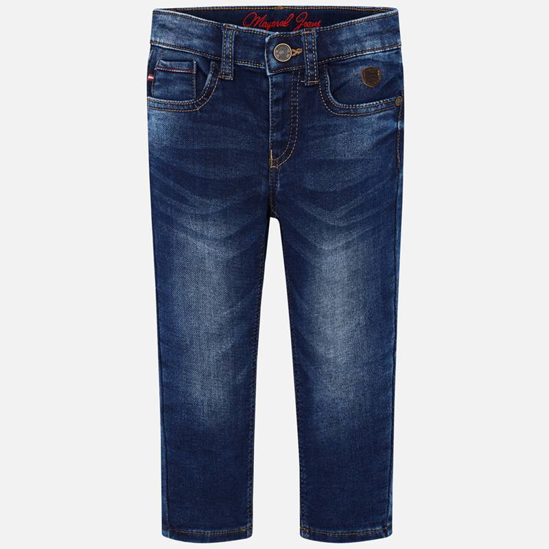 4512 Mayoral Boys Dark Denim 5 Pocket Jeans
