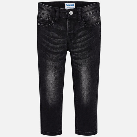Mayoral 4526 Boys Black Jeans