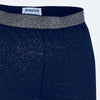 4705 mayoral navy leggings with gold glitter, stretchy elastic waistband