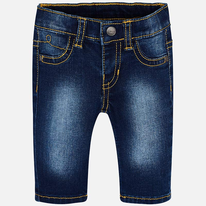 596 Summer Jeans Dark Wash Blue Girls