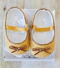 Baby Girls Soft Soled Shoes, Mustard Sparkle Mary Jane Shoe