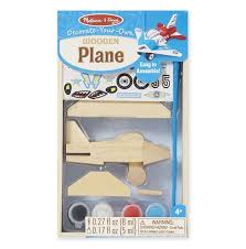 Created by Me Airplane, inside package, wooden toy, diy kids creative toys