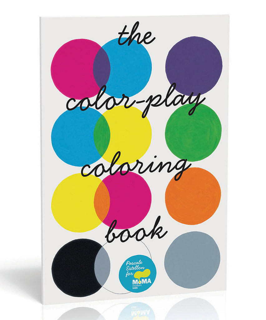 Art for Kids - Activity Books - Museum of Modern Art (MoMA) Color Play XL Coloring Book