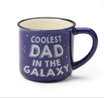 Cup Father's Day Gift - Mug Life, Best Dad, Coolest in the Galaxy