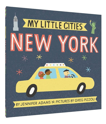 Board Book - My Little Cities - New York