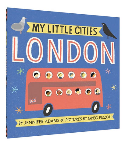 Board Book - My Little Cities - London