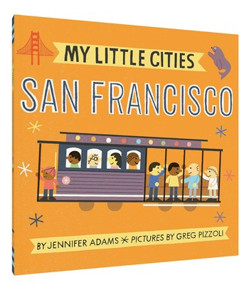 Board Book - My Little Cities - San Francisco