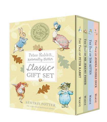 Peter Rabbit 4 Book Boxed Gift Set, Naturally Better