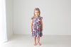 Posh Peanut Bamboo Eco Lux Twirl Dress, Monroe, Big sister