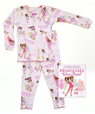 Made in the USA, Cotton Pajamas, Books to Bed, Matching Siblings, Princesses Wear Pants