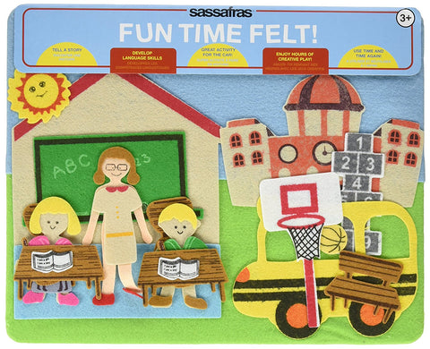 Activity, Travel Games & Toys, Felt Play Story Board, My Classroom