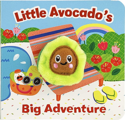 Chunky Mini Finger Puppet Board Book - Little Avocado's Big Adventure