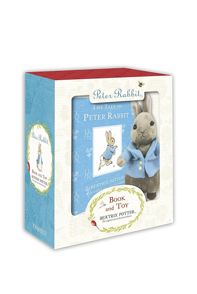 Classic Tale.of Peter Rabbit Boxed Gift Set w/Plush Toy