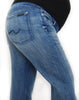 7 For All Mankind Maternity Jeans, Premium Denim, Signature Pocket, Bootcut