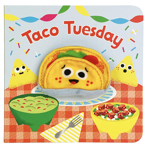 Mini Finger Puppet Board Book -Taco Tuesday
