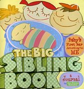sibling keepsake journal, big sister, big brother, new baby journal