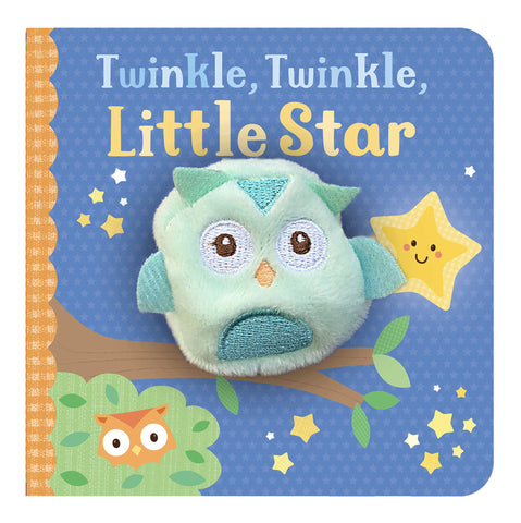 Mini Finger Puppet Board Book - Twinkle Twinkle, Little Star