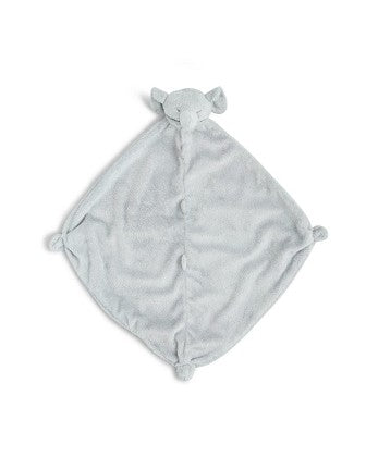 "Angel Dear 13"" Animal Blankie Lovie, Security Blanket - Grey Elephant"