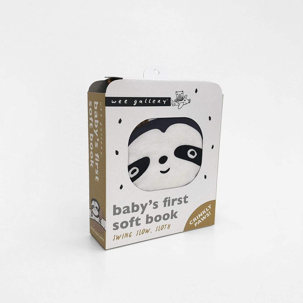 Baby's 1st Soft Crinkly Book, Swing Slow Sloth