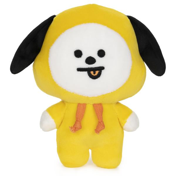 "Official Line Friends BT21 7"" Plush Stuffed Toy, Chimmy Puppy"