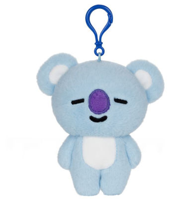"BT21 Official Line Friends 4"" Backpack Bag Clip, Koya Koala"