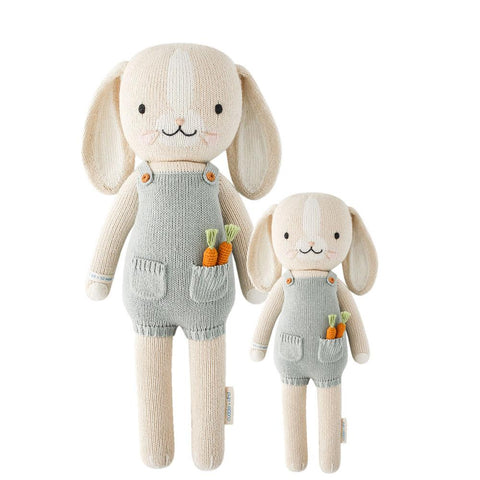 Cuddle+Kind Heirloom Hand-Knit Dolls, Henry the Bunny (two sizes available)