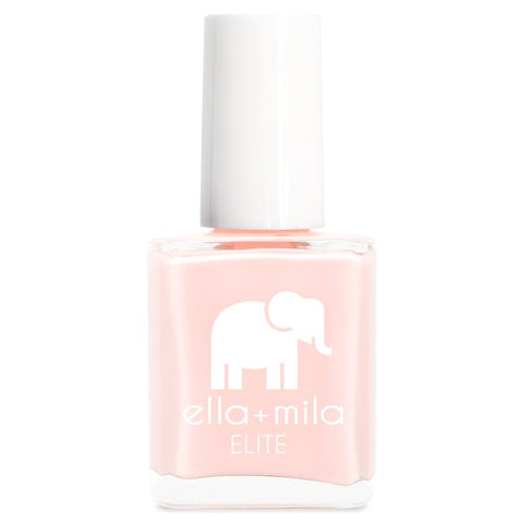 Ella + Mila Cruelty-Free Natural, Kid-Friendly Nail Polish, Barefoot Nude/Pale Pink
