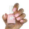 ella + mila cruelty-free natural, cute kid-friendly nail polish, bubblegum pink