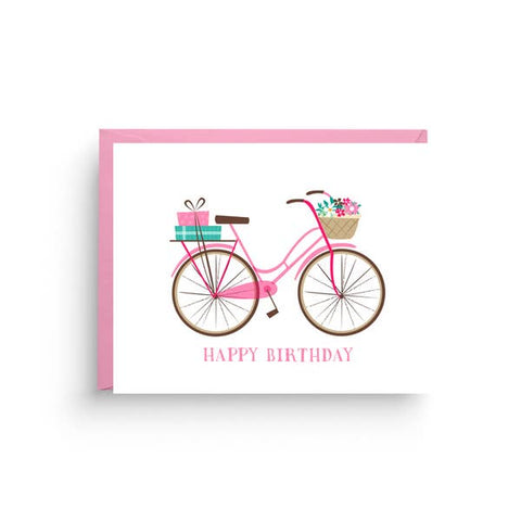 Greeting Card - Birthday Vintage Bike