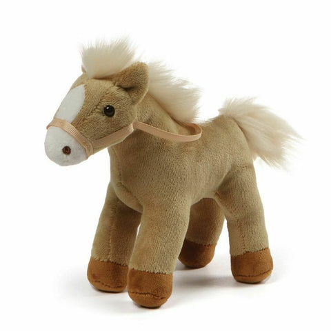 "Gund, 4.5"" Chatter Horse w/Sound, Golden"