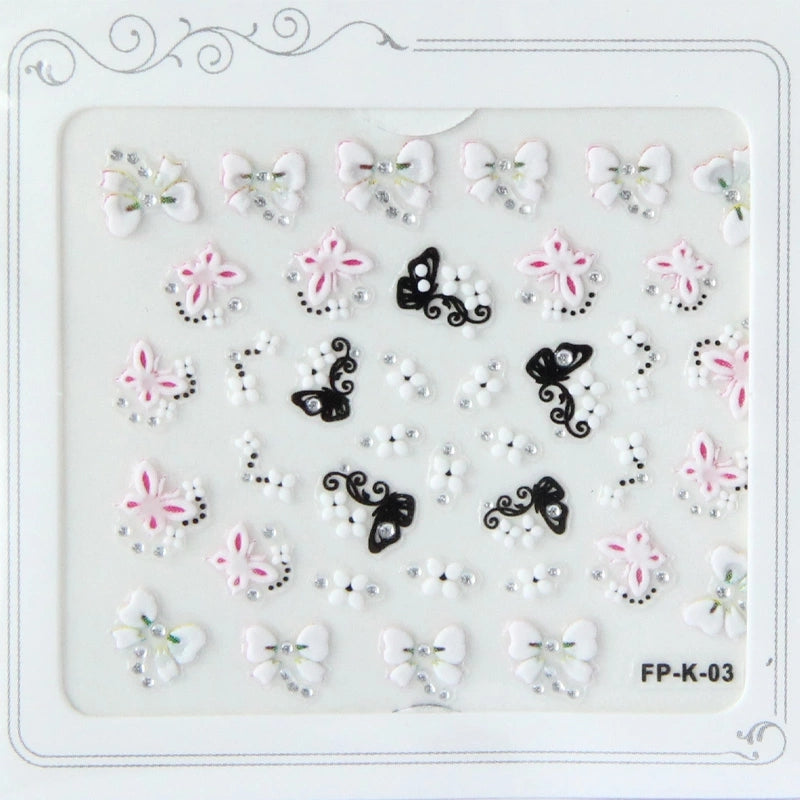 Nail Stickers - Spa Day Kids Nail Art Stickers – Bubble Belly moms ...