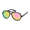 Children's Sunglasses - Unisex, Aviators, Plastic Frames - Translucent Blue