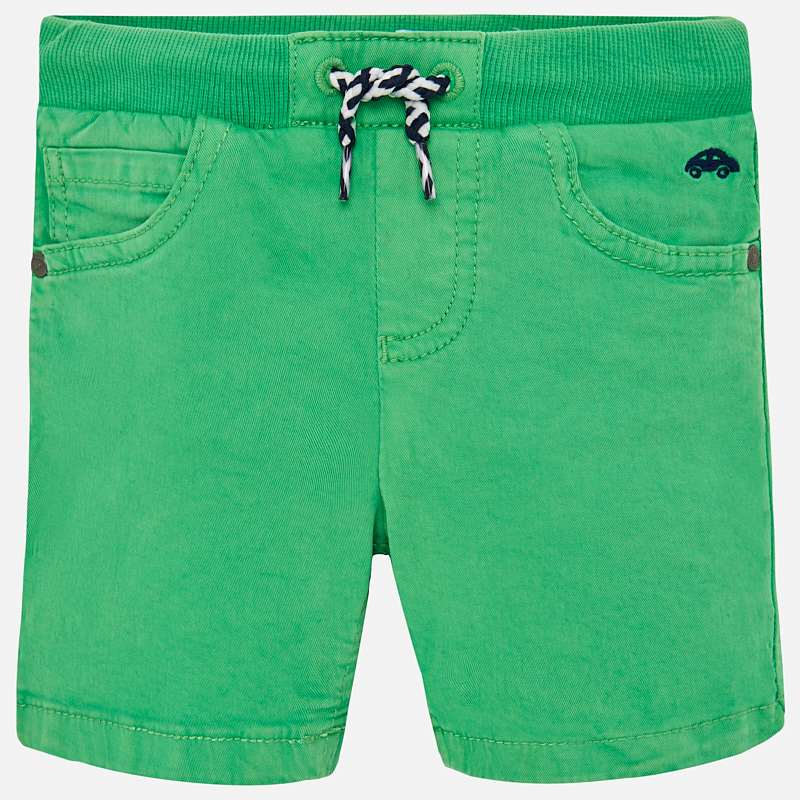 little boys casual summer shorts, green, Mayoral 1245