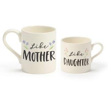 Cup Gift - Mug Life, Like Mother Like Daughter 2 PC Set