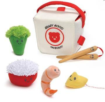 Chinese Take Out, Soft Play Food & Sensory Toy for Kids