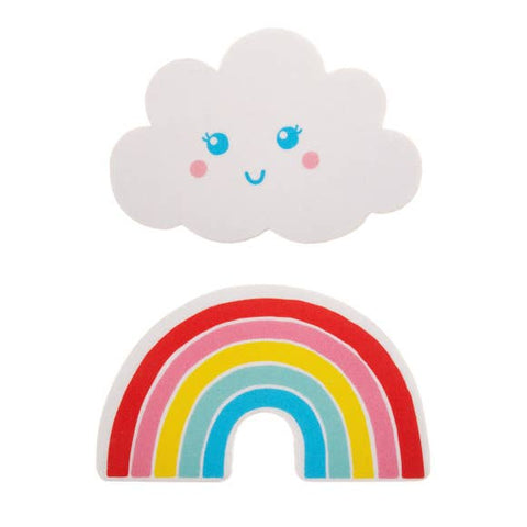 Rainbow and Cloud Nail Files - 2 PC Set
