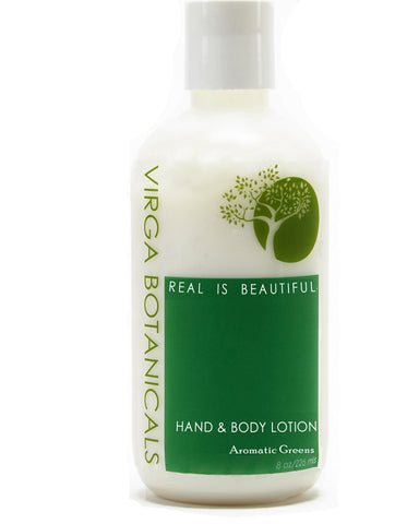 Aromatic Greens <br> Hand & Body Lotion