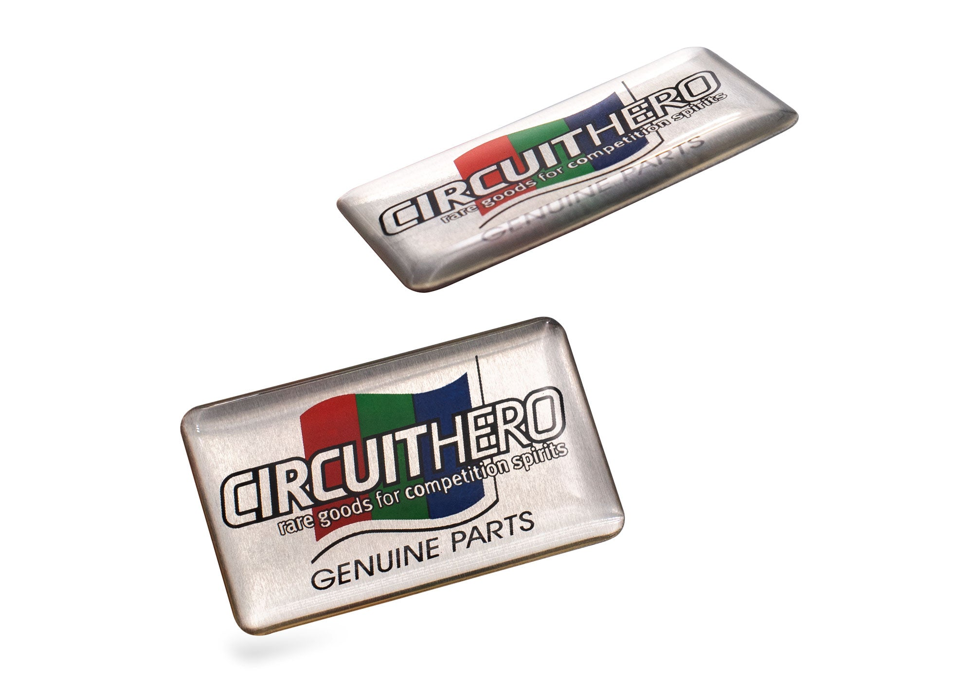 Circuit Hero Genuine Parts Badge