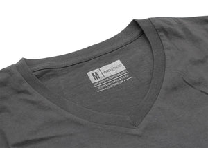 Circuit Hero Logo T-Shirt (Grey V-Neck)