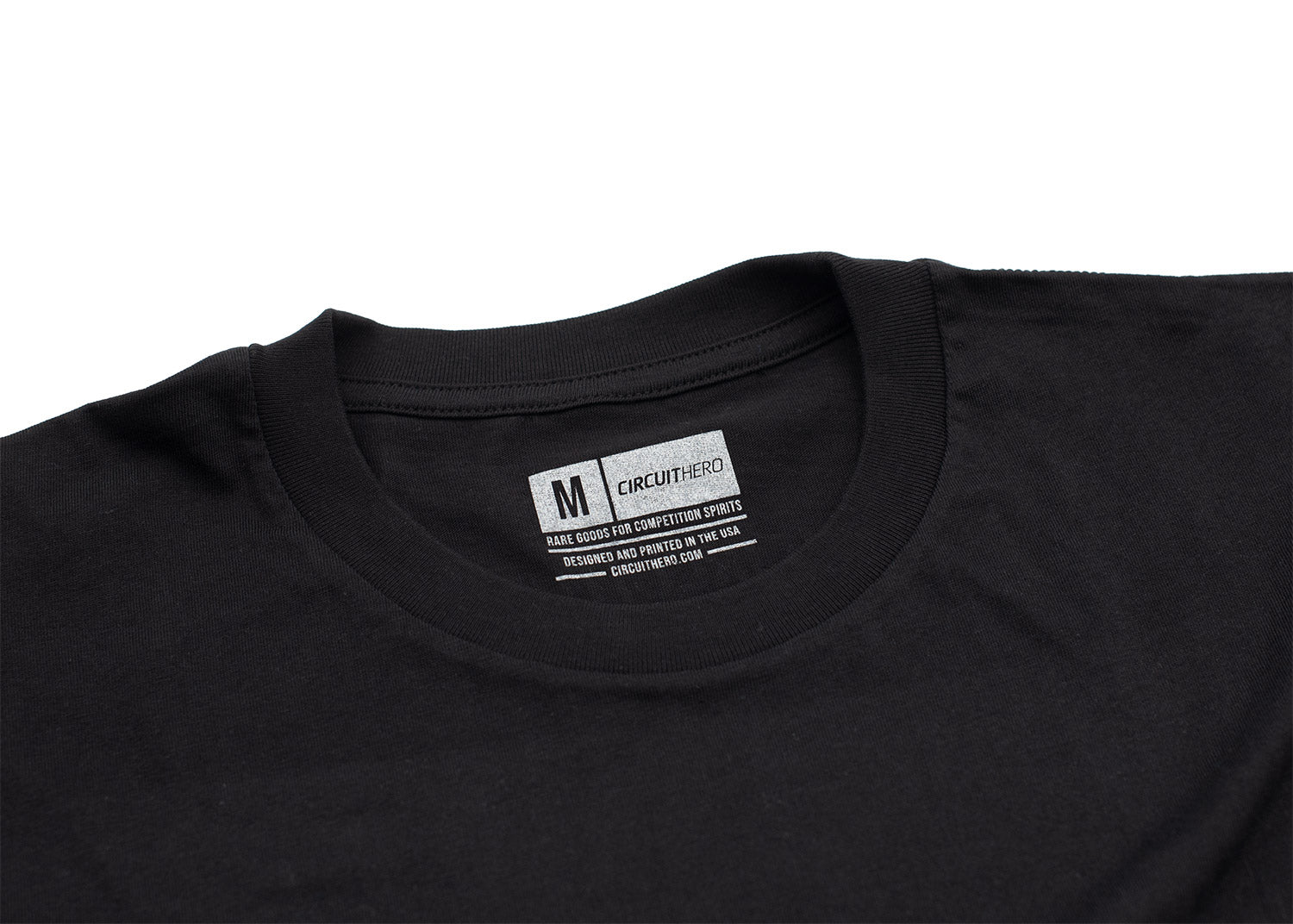 Circuit Hero Logo T-Shirt (Black)