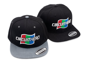 Circuit Hero Flag Snapback Track Hat