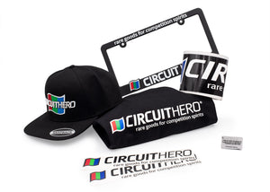 Circuit Hero 7-piece Track Pack in Black